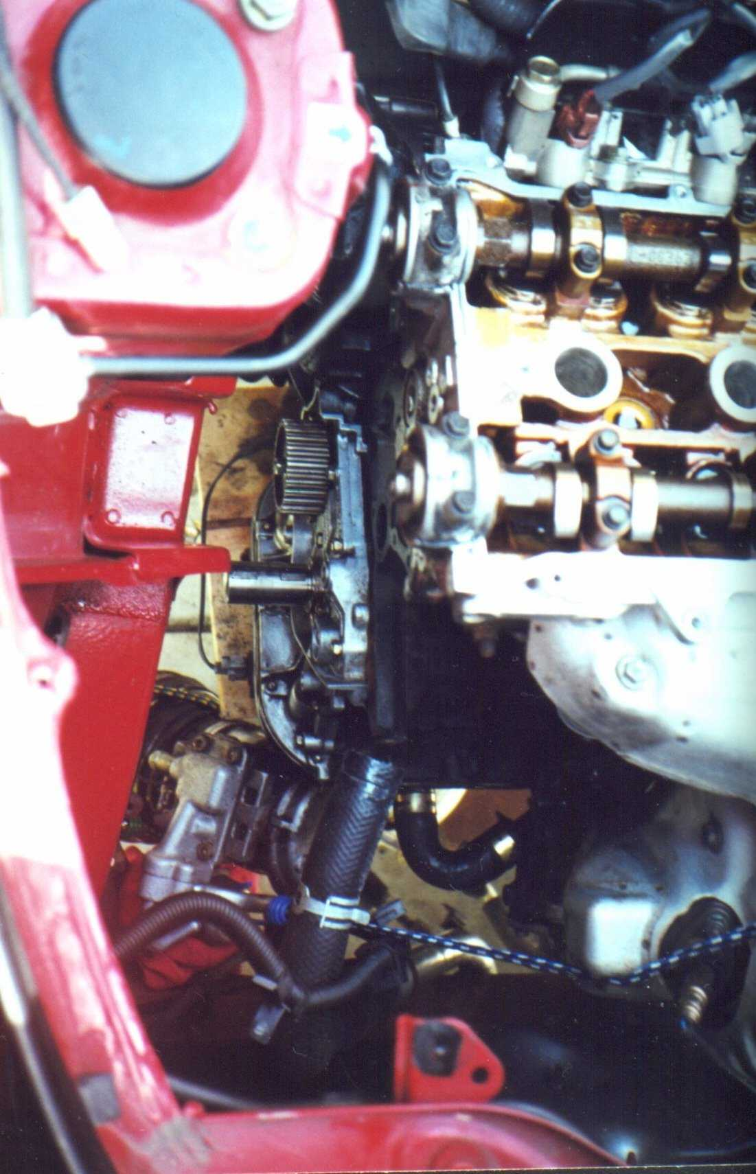 How To Do The Sw20 3s Gte Timing Belt Wiring Diagram 91 Mr2 Turbo Engine Harness For Sale Lotsa Room W Nothing On Motor Huh