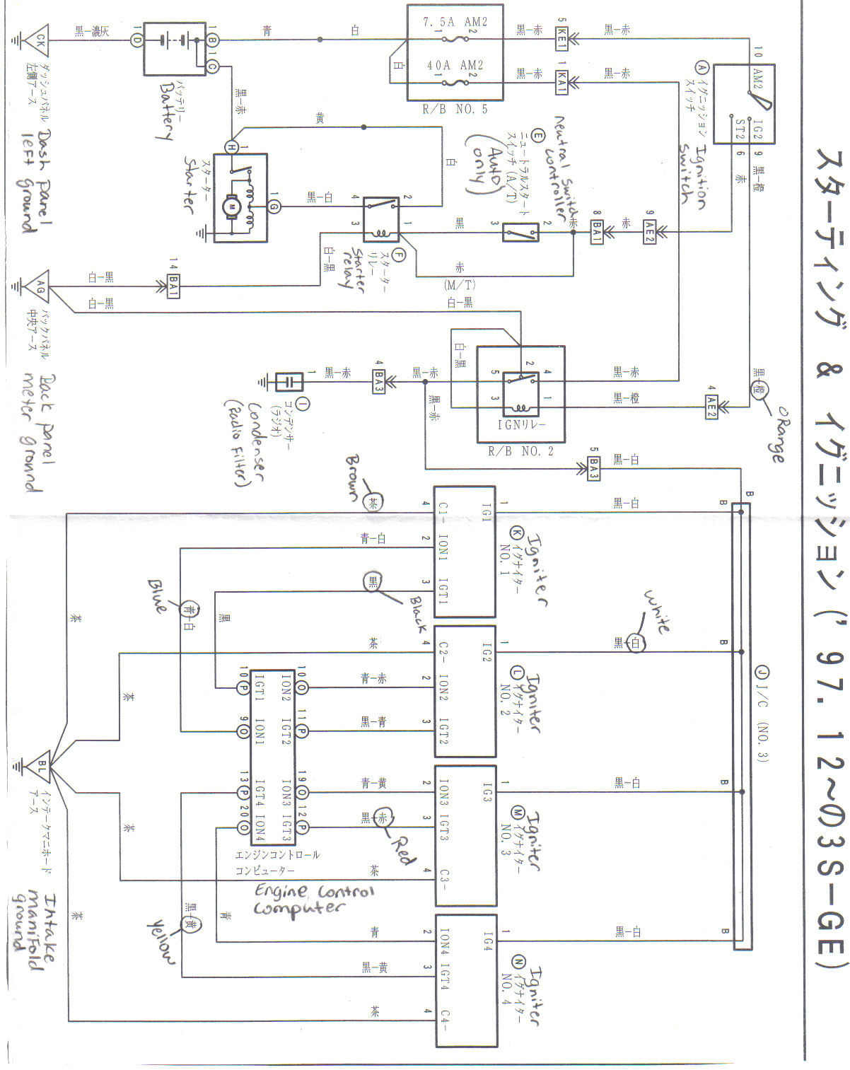 Toyota Mr2 Wiring Diagrams Electrical Wiring – Toyota Mr2 Wiring Diagram
